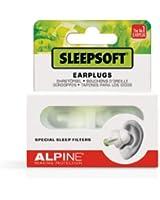 Alpine SleepSoft Bouchons d'oreilles pour Dormir Blanc