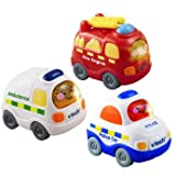 Precious Vtech Toot Toot Driver Emergency Services - Cleva Edition ChildSAFE Door Stopz Bundle