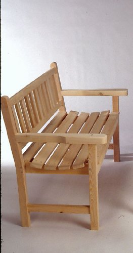 Classic 4′ Garden Bench by Tidewater Workshop