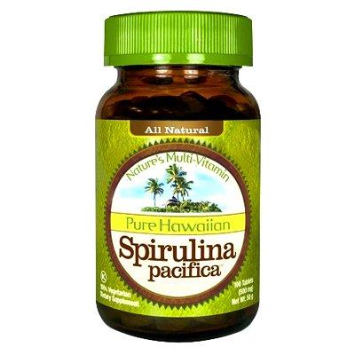 Nutrex, Inc. - Spirulina Pacifica Hawaiian 500 Mg 10
