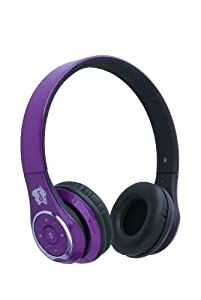 life n soul bn301 p bluetooth headphones purple electronics. Black Bedroom Furniture Sets. Home Design Ideas