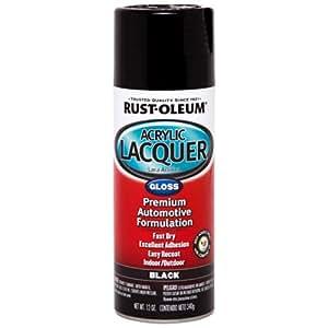 rust oleum 253365 automotive acrylic lacquer spray paint 340 g gloss. Black Bedroom Furniture Sets. Home Design Ideas