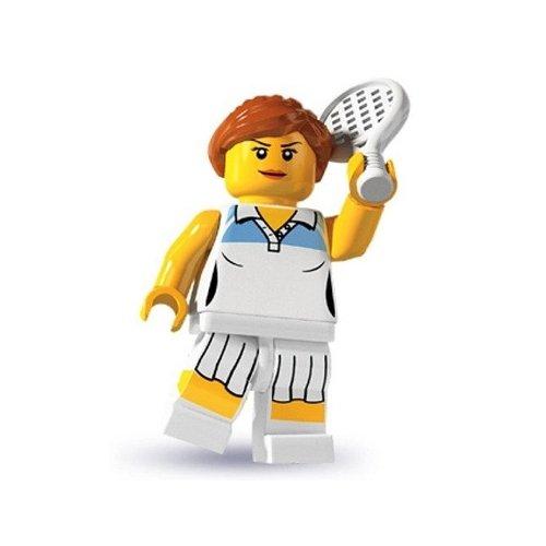 Lego: Minifigures Series 3 Female Tennis Player Mini-Figure - 1