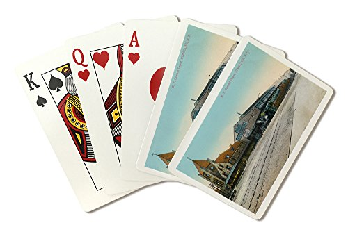Syracuse, New York - New York Central Train Depot View (Playing Card Deck - 52 Card Poker Size with Jokers) (Central Train New York Poster compare prices)