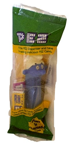 Smurf Pez Dispenser Smurf with blue stem Factory Sealed (Pez Dispensers Smurfs compare prices)