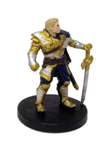 D&D Tyranny of Dragons Single Figure Common Human Paladin #8 (Miniature Human Figures compare prices)