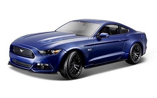 2015-Ford-Mustang-Maisto-31197-Blau-118-Die-Cast