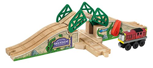 Fisher Price Thomas Wooden Railway Drawbridge