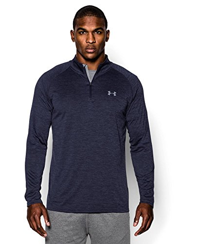Under Armour Men's Tech ¼ Zip, Midnight Navy/Steel, XX-Large