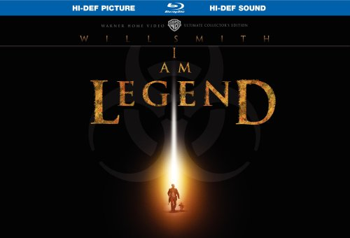 Cover art for  I Am Legend (Ultimate Collector&#039;s Edition) [Blu-ray]