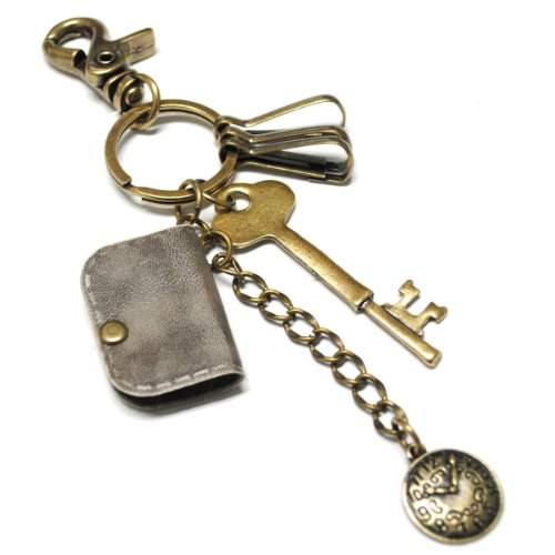 TheLees (OP102-GRAY) Unisex Casual Key ring Key