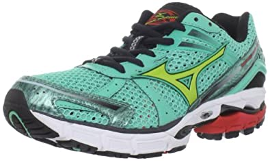 Mizuno Women's Wave Inspire 8 Running Shoe,Opal/Lime Punch/Barite,8 B US