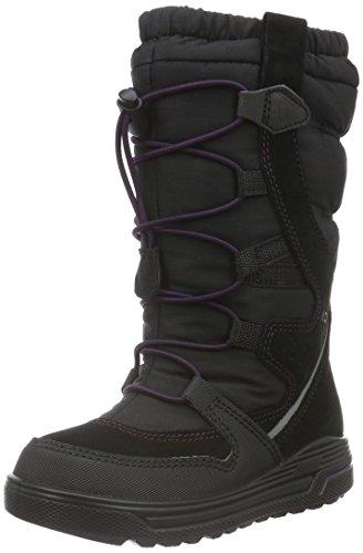 Ecco Urban Snowboard, Stivali da Neve Bambina, Nero (Black/BLACK51707), 40 EU