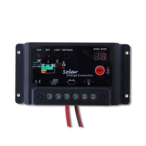 Sun YOBA Solar Charge Controller Solar Controller 30A 12V 24V (Solar Panel Voltage Controler compare prices)