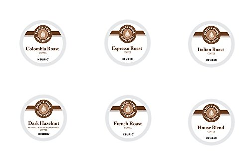 30 Count - Barista Prima Coffeehouse Variety K-Cup Packs For Keurig K Cup Brewers and 2.0 Brewers (6 varieties, 5 K-Cups each) (Keurig K Cup Coffee Sampler compare prices)