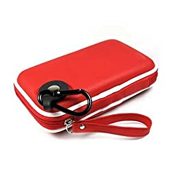 Kroo CNDSZNR1-HD Western Digital My Passport Portable Hard Drive EVA Case (Red)