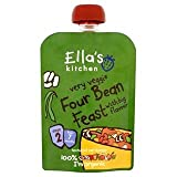 Ella's Kitchen Organic Hugely Hearty Four Bean Feast Stage 2Â 130g