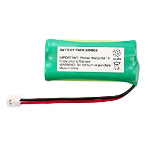 Fenzer Rechargeable Cordless Phone Battery for Vtech DS6111 DS6111-2 Cordless Telephone Battery Replacement Pack
