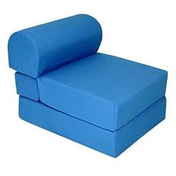 Royal Blue Children\'s Foam Sleeper Chair
