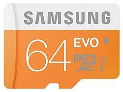 Samsung MB-MP64DAEU 64GB, MicroSDXC EVO48 MB/s, Orange, White,