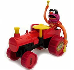 Playmobil Muppets Collectible Die-cast Figure - Animal on Tractor by Corgi