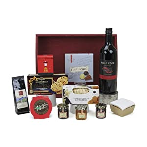 Christmas Hamper Tray Including Kell's Edge Cabernet Sauvignon 2011 75 cl
