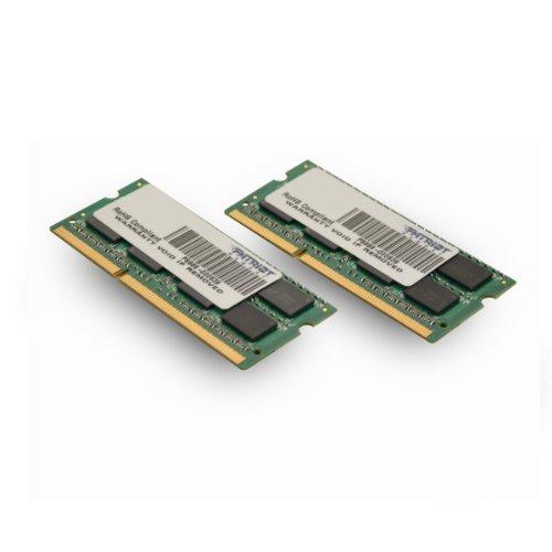 Patriot Signature Apple 8GB (2 X 4GB) PC3-12800 (1600MHz) CL11 DDR3 SODIMM Memory Module Kit PSA38G1600SK (Mac Memory Module compare prices)