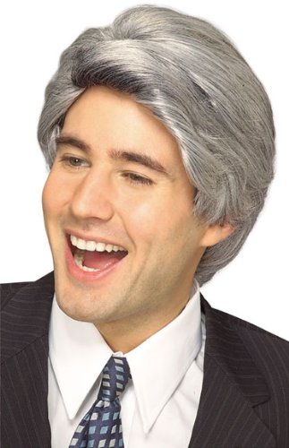Jay Leno Wig Gray Bill Clinton Wig Mens Gray Wig 51368