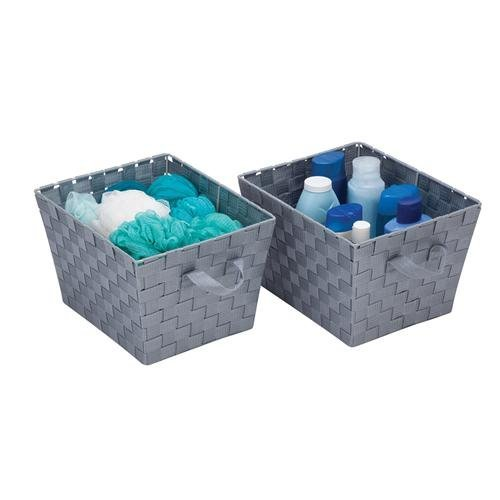 Honey Can Do Gray Set of 2 Woven Baskets жидкость maxwells black honey 0мг 30мл
