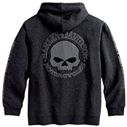 Harley-Davidson® Willie G.® Hooded Skull Sweatshirt