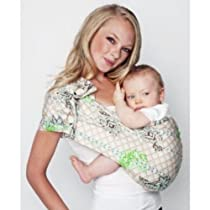 Hotslings AP Baby Sling Graham Cracker Regular with Bonus Rockin Green Soap and Tooth Tissue Samples