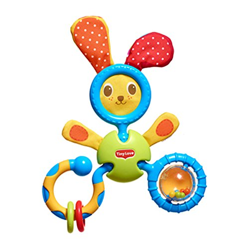 Tiny Love Smarts Rattle Toy, Bunny Trio
