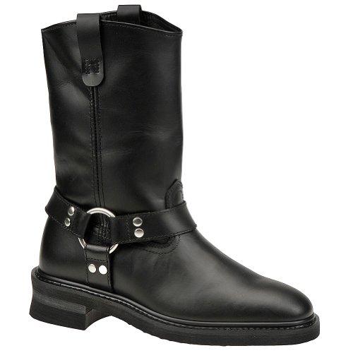 Mason Men's Harness Boot 8.5 4E US Black