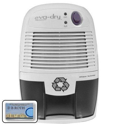 Eva dry edv 1100 thermo electric peltier dehumidifier 16 for Small baths 1100