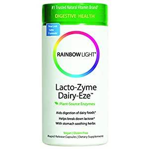 rainbow light lacto zyme dairy eze plant source enzyme. Black Bedroom Furniture Sets. Home Design Ideas