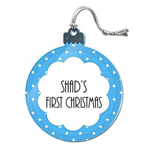 Acryl Weihnachtsbaum Urlaub 1. Ornament Namen Stecker sa-sh, Shad