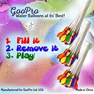 Water Balloons Set!! Tie - Not Water Balloon Filling Set - Magic Balloons! Fill a Bunch in a Minute! - Make a Bunch of Battle Ready Water Bombs Fast - Easy for Kids to Use