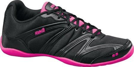 Ryka Women's Rhythmic+,Black/Athena Pink,US 5 M