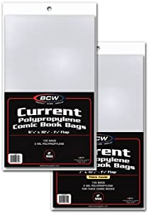 BCW Current Bag And Board 200 Pack
