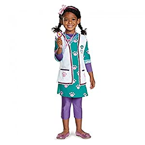 Doc McStuffins Pet Vet Deluxe Child's Costume - Medium (3T/4T)