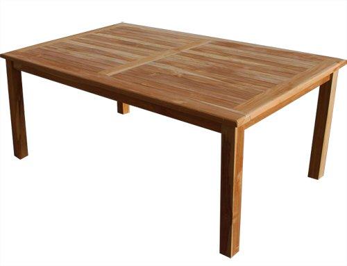 KMH®, Gartentisch (180 x 90 / ECHT TEAK) (#102130) kaufen