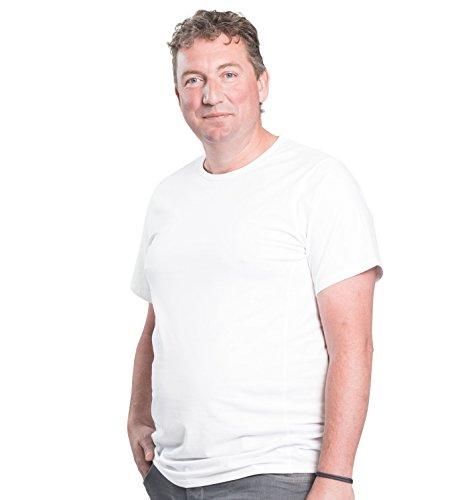 Camiseta-clsica-cuello-redondo-2-T-Shirt-para-hombre-Alca-Fashion--tallas-extra-grande-XL-B-8XL-B-Alca-Classic-Tshirt-crew-neck-2-pack-2pk-TEE-5XL-B-Blanco