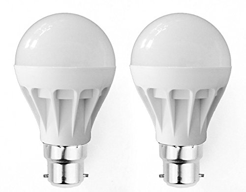 Super Eco 7W LED Bulbs (Cool White, Pack of 2)