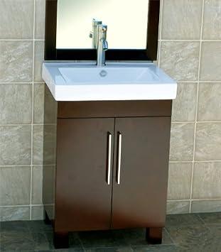 Foremost Coeat2418 Columbia 24 Inch Espresso Bath Vanity Combo