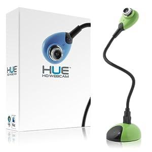 HUE HD (green) USB camera for Windows and Mac