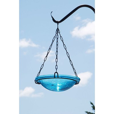 Achla Designs Teal Hanging Birdbath