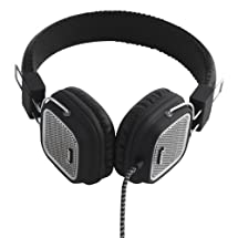 Vain Sound Model One Black/Silver Premium On-Ear Headphone with Remote and Microphone
