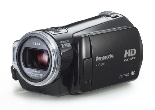 Panasonic HDC-SD5 High Definiton SD Card Camcorder - Black