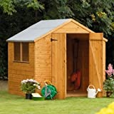 7 x 7 Shed Republic Professional Tongue and Groove Apex Double Door Shed