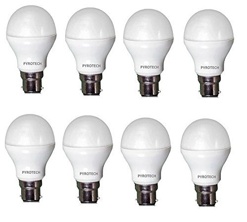 Pyrotech 12W LED Bulb (Cool White, Pack of 8)